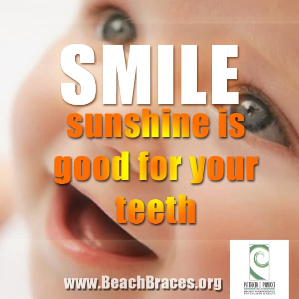 Braces Quotes: Beach Braces Smile Quote #7